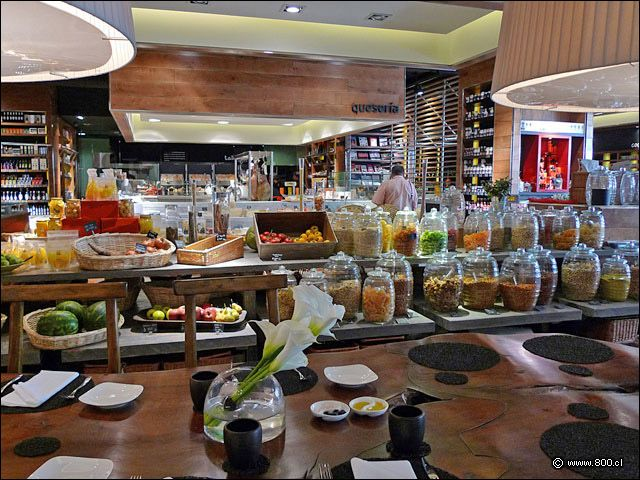#Coquinaria Gourment Cafe and Market - W Hotel Santiago Chile