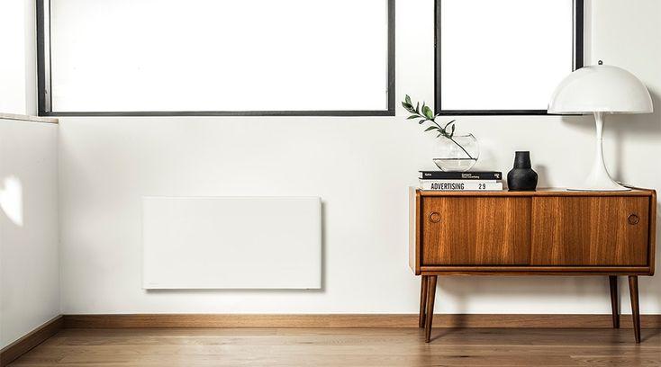 Energismarte og elegante panelovner i glass