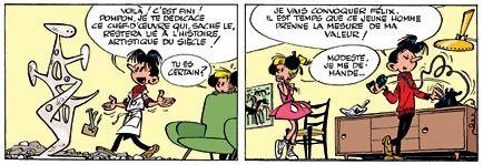 Franquin - Modeste et Pompon