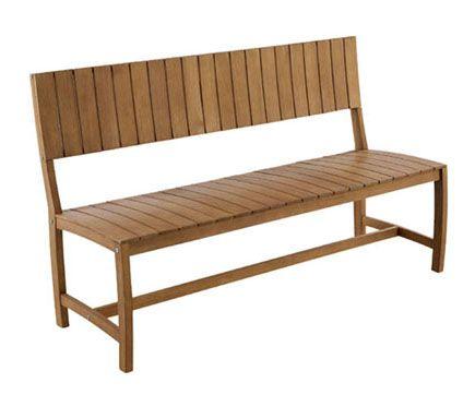 banco de madera white teak amazonia uac