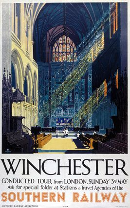 'Winchester', SR poster, 1935.