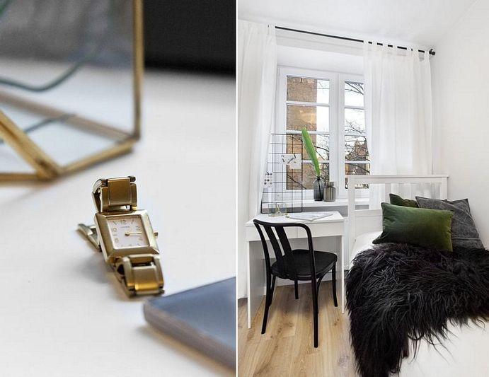 Skandynawski apartament w sercu miasta | proj. studioLOKO