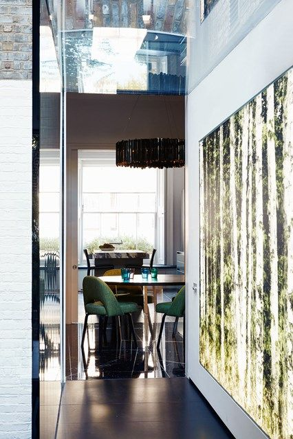A Victorian Hallway Extension With Glass Skylights. Best Small Grey Hallwayu2026