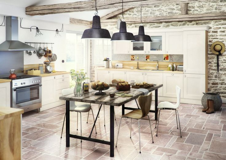 Oltre 25 fantastiche idee su cuisine ixina su pinterest ixina cuisine meuble laqu e maniglie - Keuken geesten campagne ...