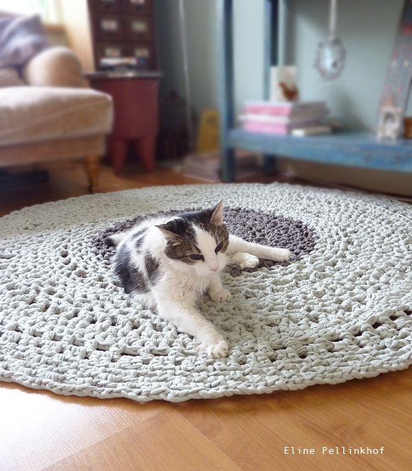 Eline Pellinkhof: Crochet rug