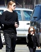 Stylish family with kids...Brangelina