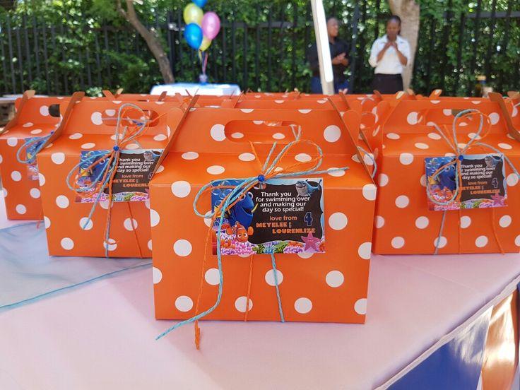 Nemo & Dory Party Boxes