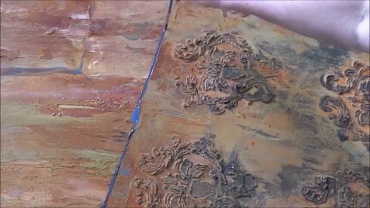 Rusting Techniques for Fine Art Projects with Linda MacAulay.  Learn how to create and control faux rust by using Ferrous Powder.