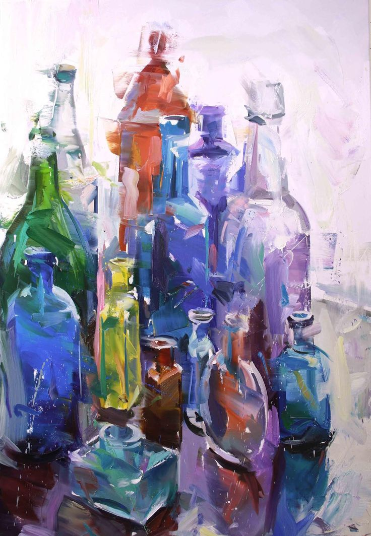 Bottles, Oil, ....Paul Wright