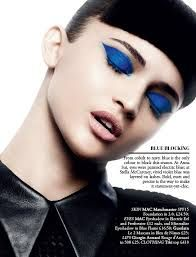 Makeup from magazines