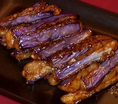 Japanese Eggplant, Teriyaki Style; broil for longer!