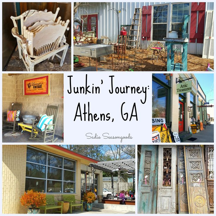 I *LOVE* to explore small(ish) towns in the South, and this time I set my sights on Athens- checking out all the best vintage, thrift, and antiques stores.