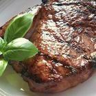 Photo de recette : Steaks marinés à l'ail