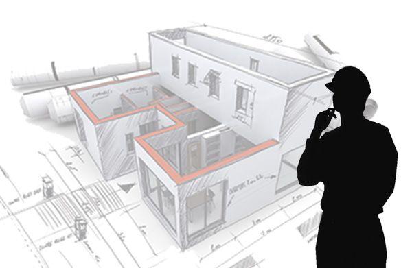 Carte De Visite Batiment Construction