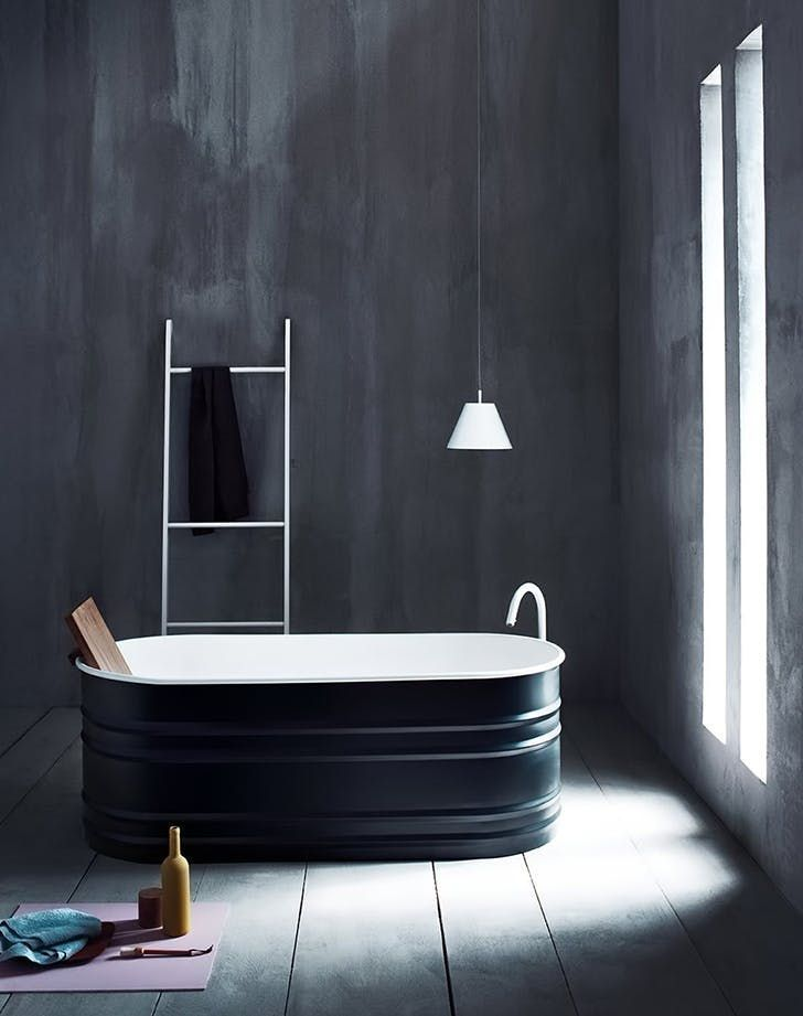 Best 25 painting bathtub ideas on pinterest painted for Mobili neri