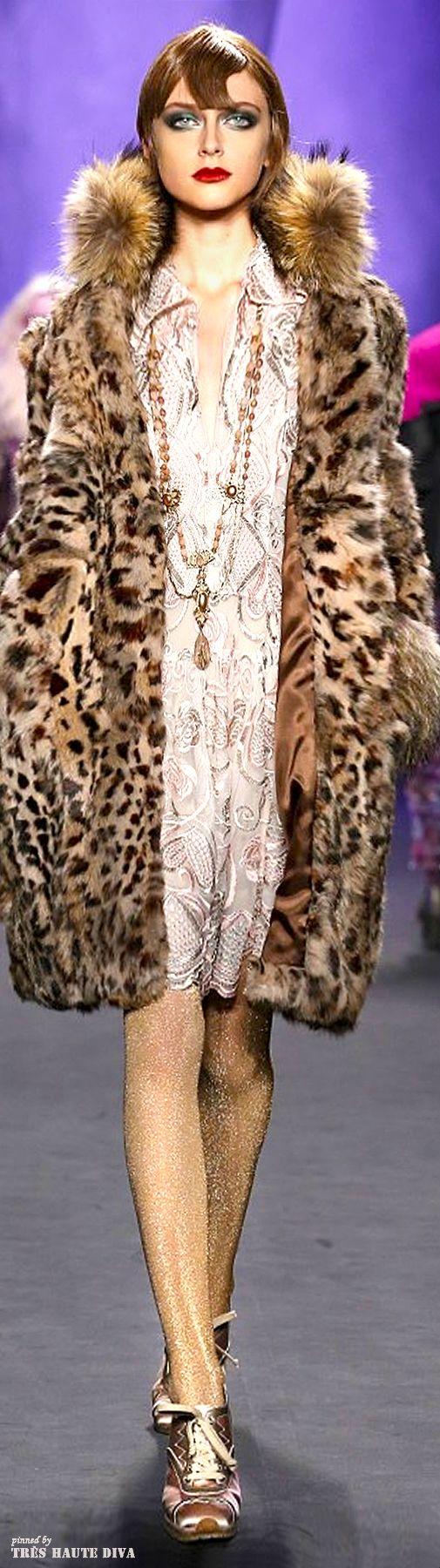 #NYFW Anna Sui Fall/Winter 2014 RTW