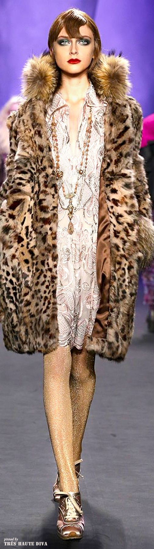 #NYFW Anna Sui Fall/Winter 2014 RTW
