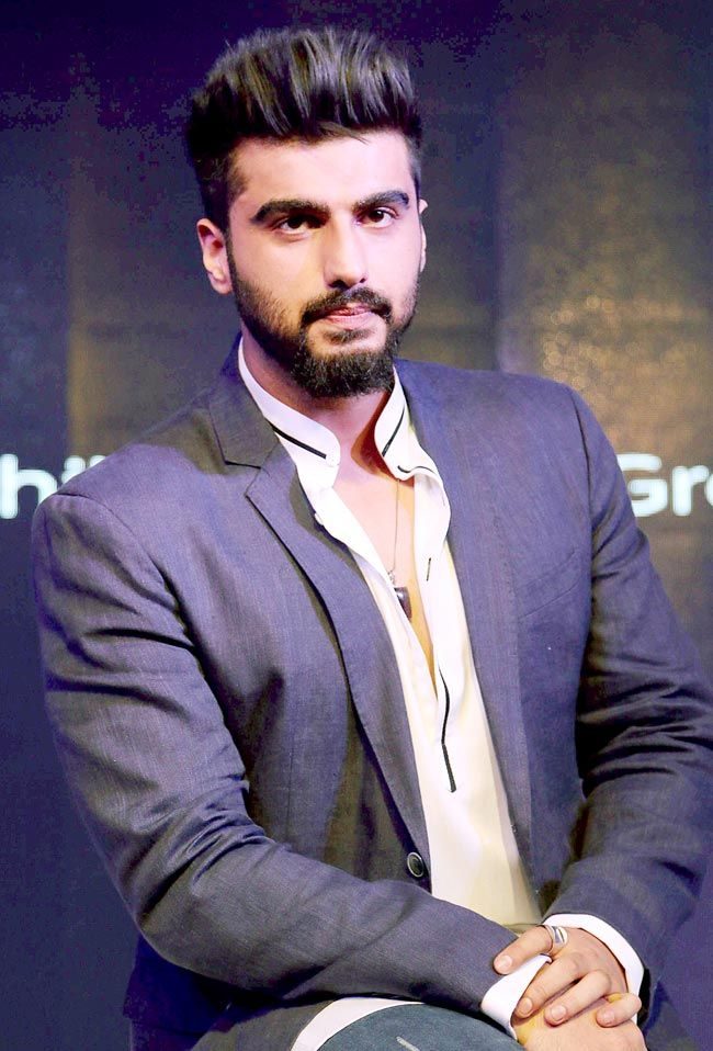 Arjun Kapoor at the launch of bodygrooming range for men. #Bollywood #Fashion #Style #Handsome