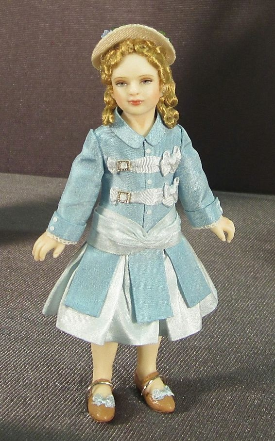 Pretty doll and clothing  Miniatures, dollhouse