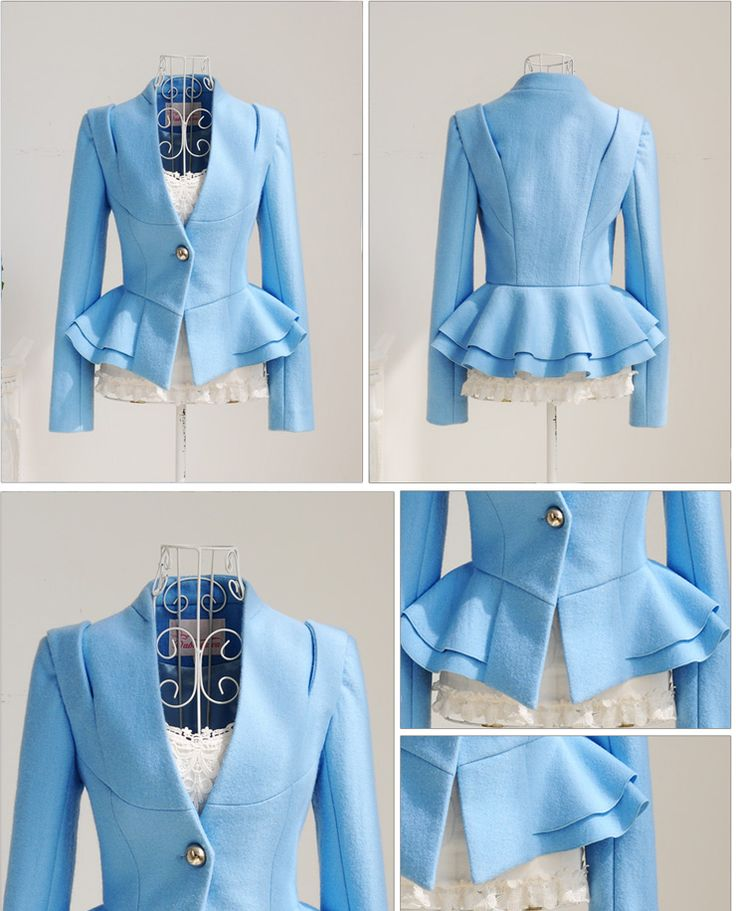 a lot of look with black pants or skirt.  You need a great blouse like this too!