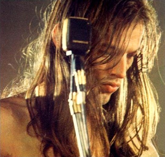 David Gilmour, Pink Floyd, during the Paris studio sessions for Live at Pompeii, December 13-20, 1971.