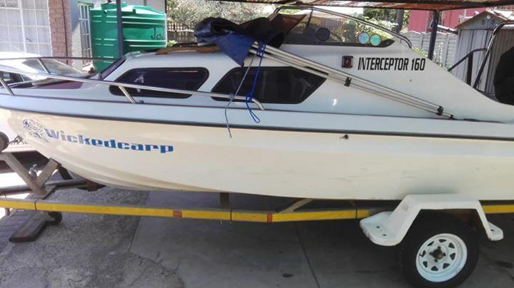 Interceptor 160 Cabin Cruiser Boat Cruiser Boat Cabin Cruiser Motor Boats