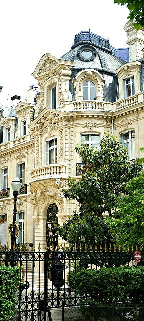 Western Edge of the Parc Monceau, Paris