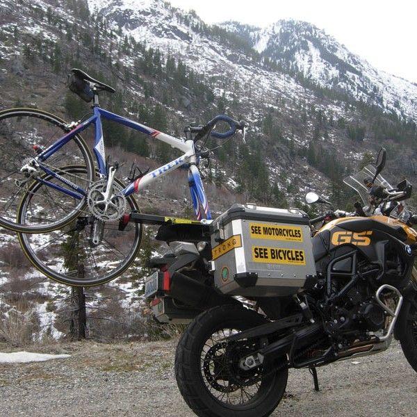 Motorcycle Bike Rack