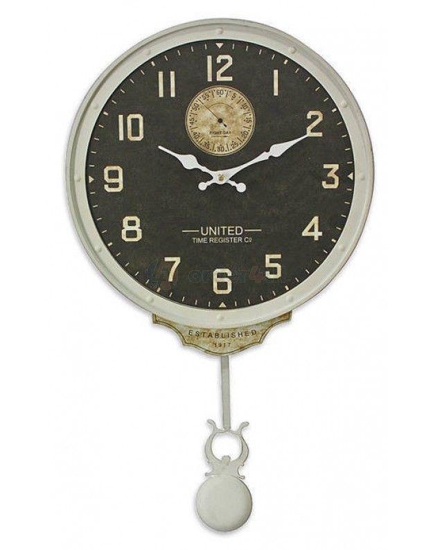 "Wall Clock ""Pendulum"" 33 CM"