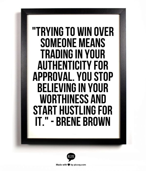 Brene Brown says it how it is. LOVE her!