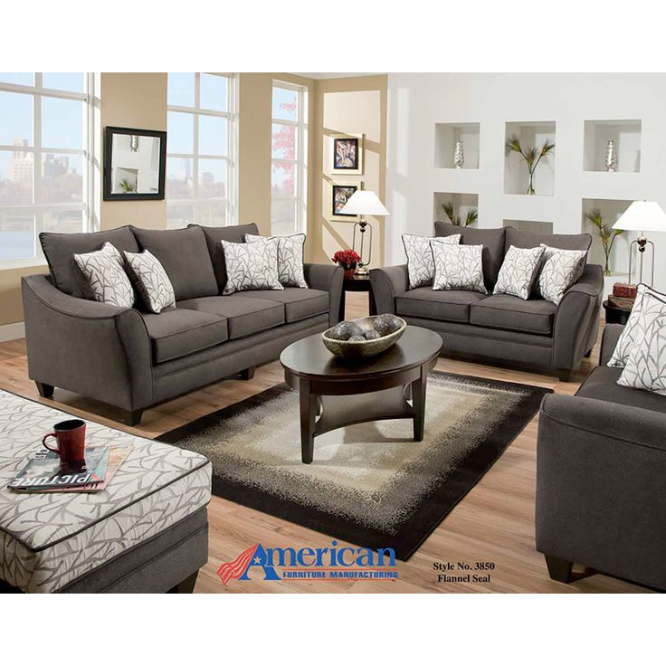 Flannel Seal Sofa | Sofas | Discount Direct Furniture And Mattress Gallery
