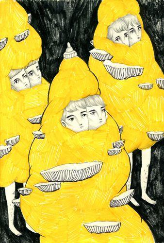 """Mini Journal"" Sketchbook II by Andrea Wan, via Behance"