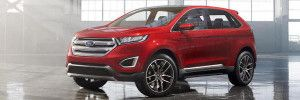 2015 Ford Edge - front