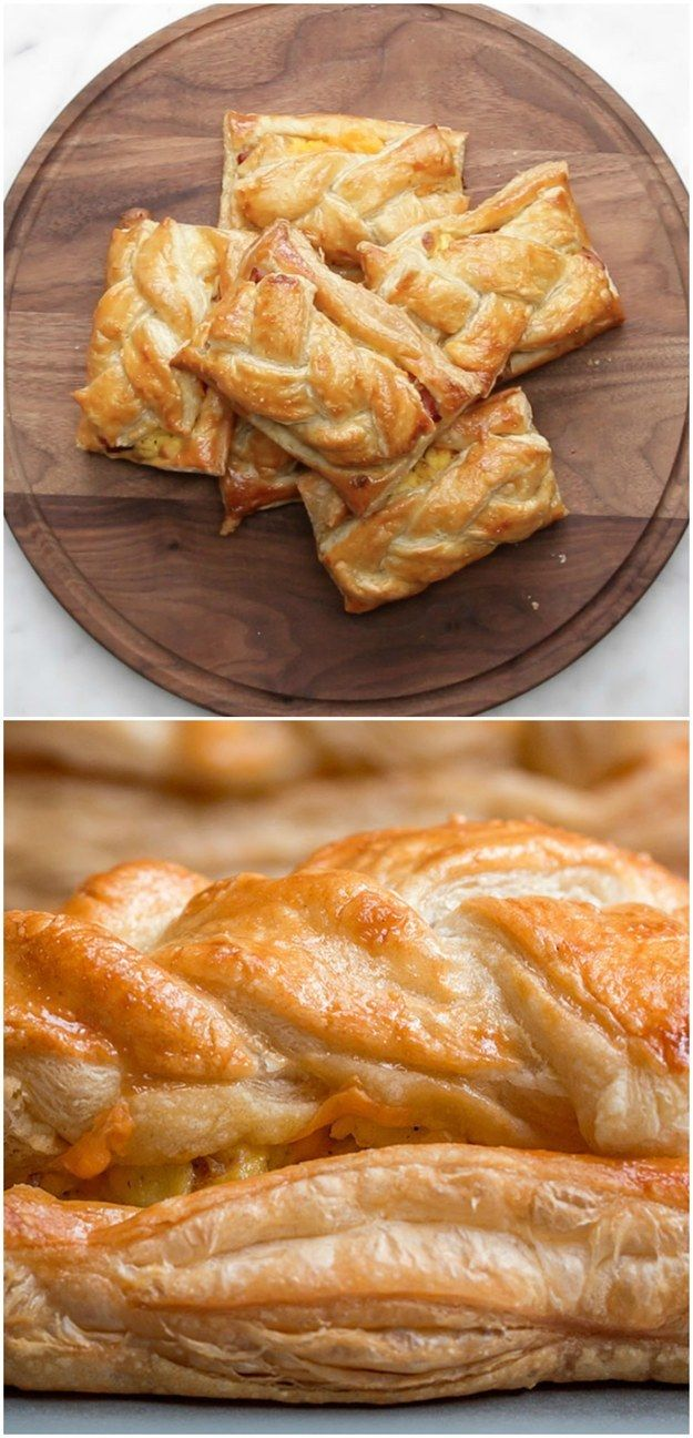 Ham, Egg, And Cheese Breakfast Braid | All The Cool Kids Are Making Breakfast Braids