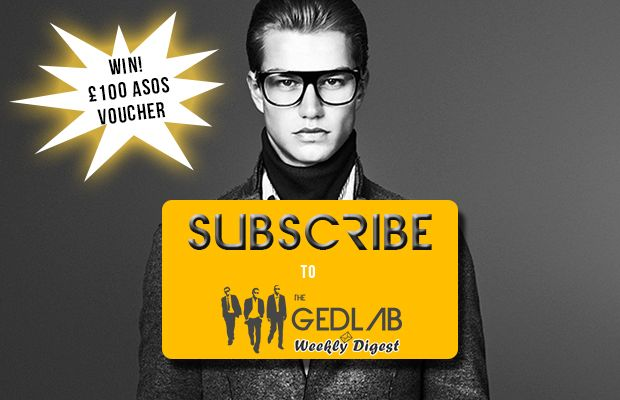 Launched: The Ged Lab Weekly Digest   Win a £100 ASOS Gift voucher