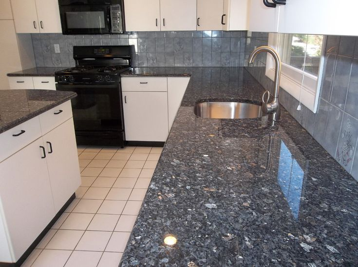 Granite Sapphire Blue What Our Countertops Should Look Like For The Home Pinterest Blue