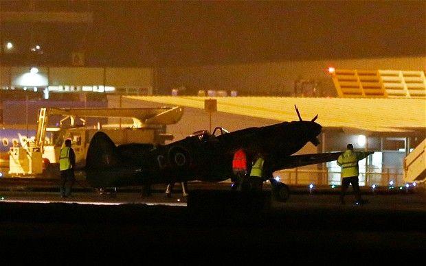 Spitfire crash landed after pilot 'pulled wrong lever' - http://www.warhistoryonline.com/war-articles/spitfire-crash-landed-after-pilot-pulled-wrong-lever.html