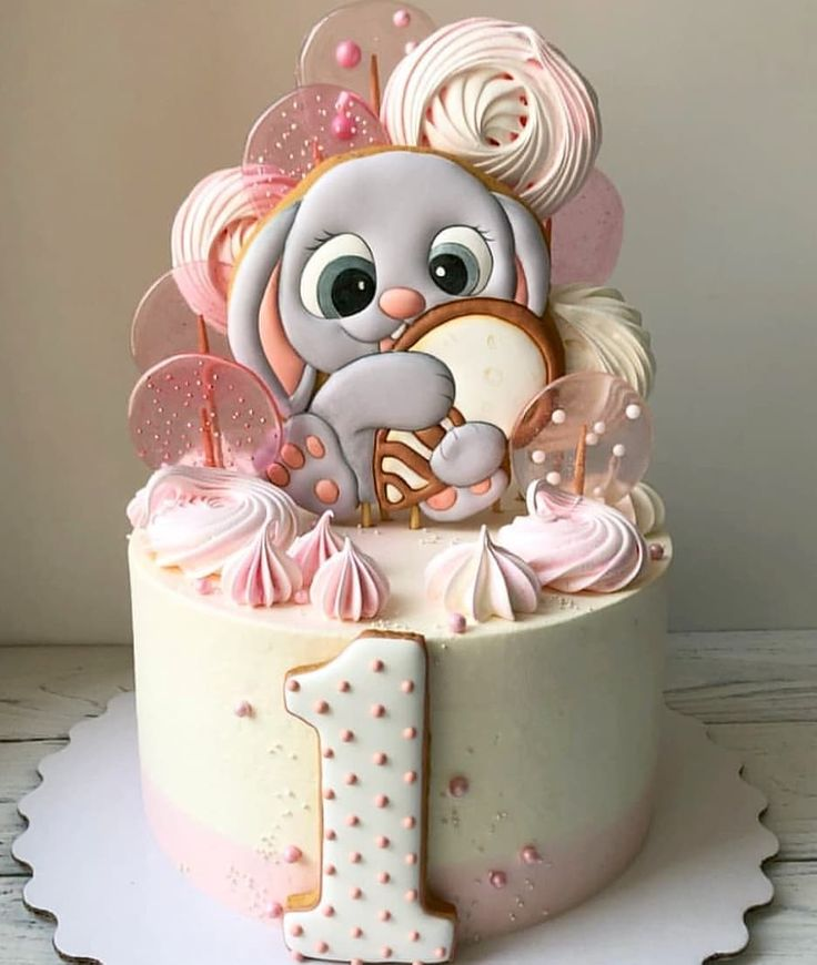 Картинки детских тортов на день рождения без мастики