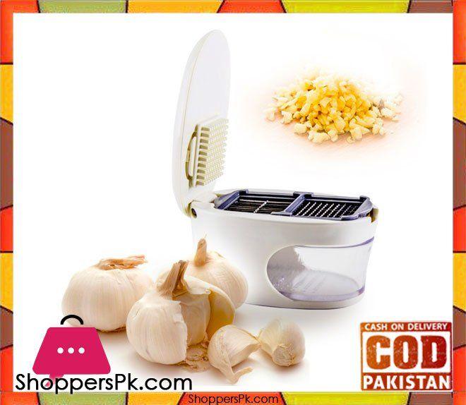 On Sale: 3 in 1 Slice Garlic Press Price Rs. 580 https://www.shopperspk.com/product/3-in-1-slice-garlic-press/