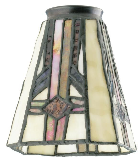 2 1 4 Inch Square Tiffany Glass Shade With Images Tiffany Lamp
