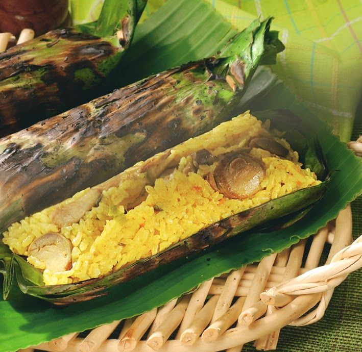 Resep Pais Nasi dengan Jamur & Teri ~ TTM|Tips Trik Memasak