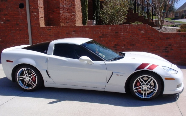 2007 Corvette Z06 - Ron Fellows championship edition.   I want one of these!
