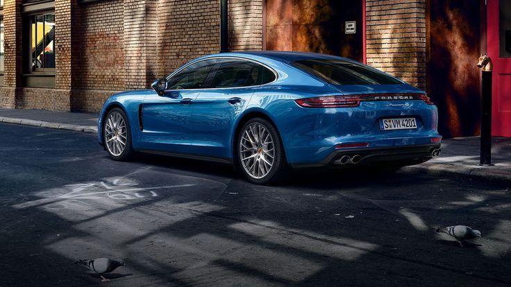 Porsche - The new Panamera 4S