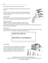 Follow the steps in this printable to hold your own mock election at school or home. http://www.teachervision.fen.com/elections/printable/71781.html #Election2012