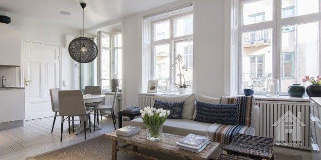 Scandinavian Design's Flat: Small But Stylish | HM-decor