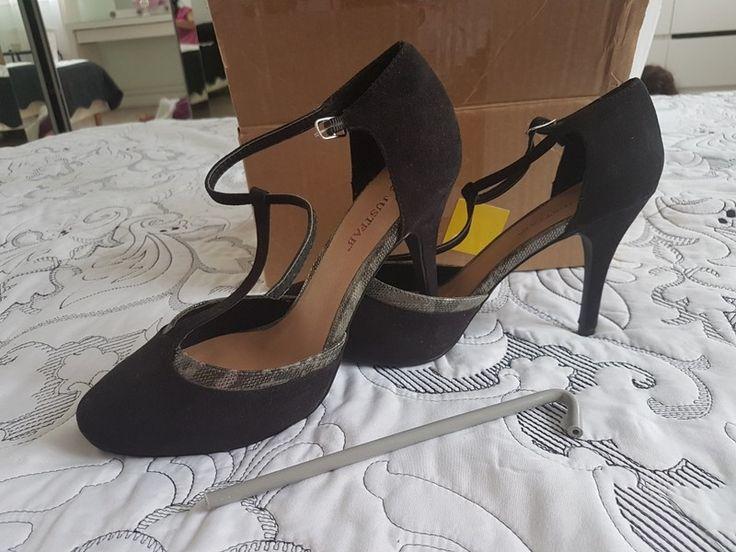Superbe paire d escarpins salome noir taille 39 com9