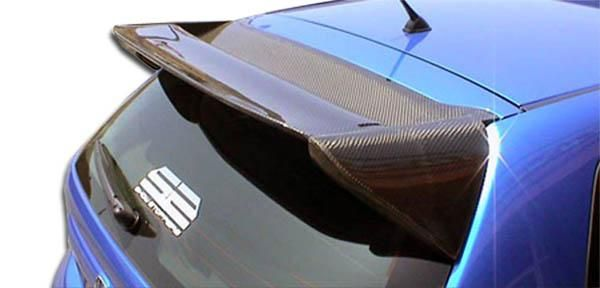 2002-2005 Honda Civic Si HB Carbon Creations Type M Roof Window Wing Spoiler - 1 Piece