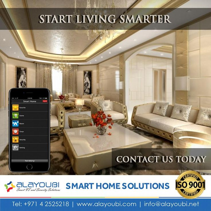 Start Living Smarter. Home Automation