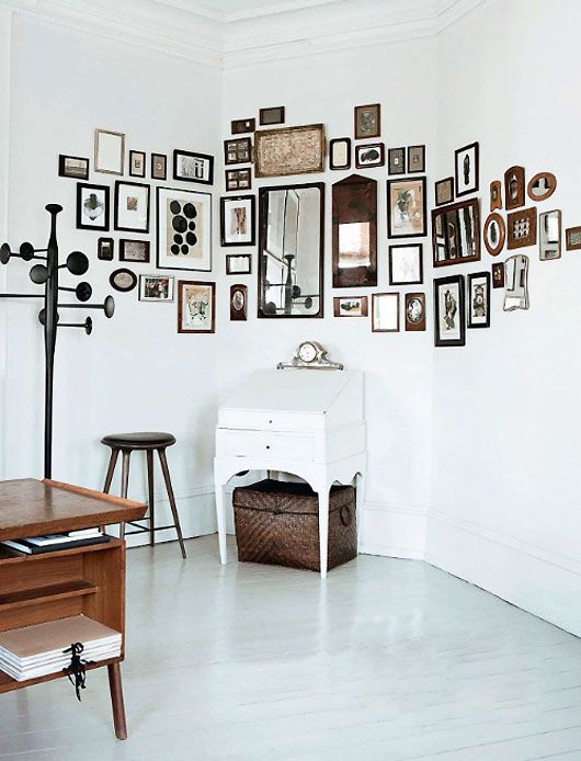 framed wall