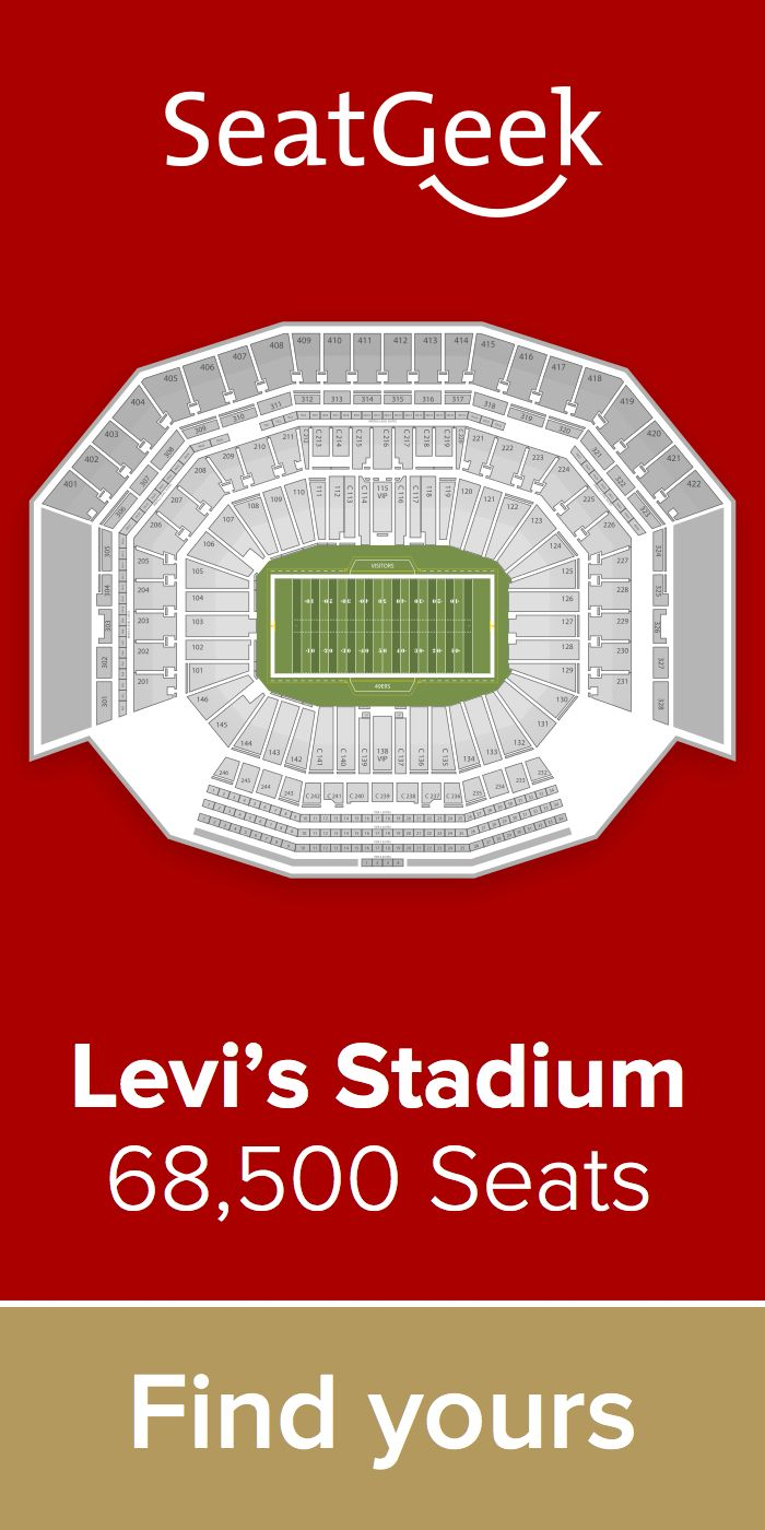 The best deals for 49ers tickets are on SeatGeek!
